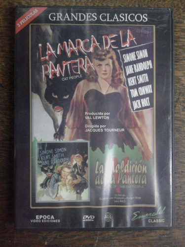 Imagen 1 de 4 de La Marca De La Pantera / La Maldicion De La Pantera * Dvd *