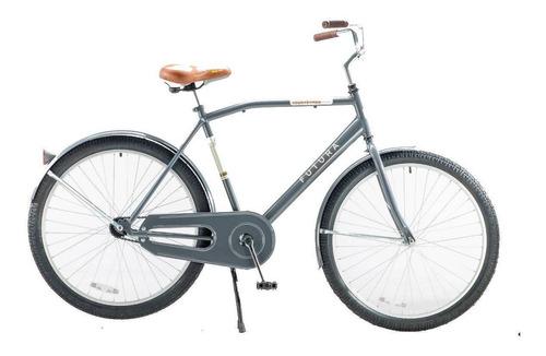 Bicicleta urbana Futura Countryman R26 freno contrapedal color gris plomo