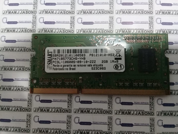 Memoria Smart 2gb Ddr3l Pc3l 10600s 09 10 Zzz 1.35v 1333mhz