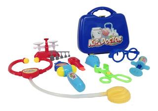 Set Médico De Juguete Kit Para Doctor Niño Infantil