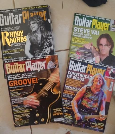 Lote Revistas Guitar Player Ano 2010