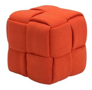 Taburete Modelo Checks - Naranja Këssa Muebles