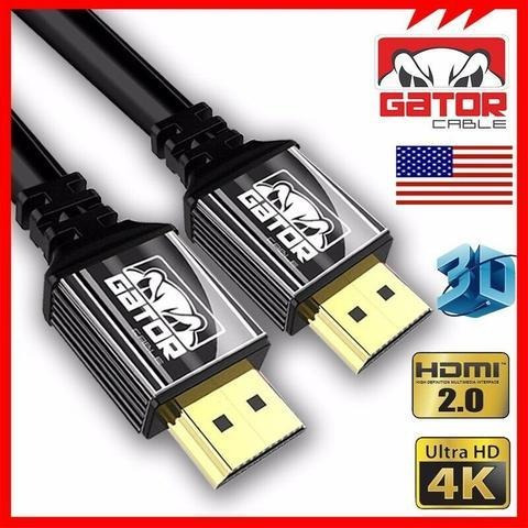 Cable Hdmi (15 Pies) 2.0 Hdtv 3d 2160p 4k