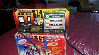 Cargador De Bateria De Autos Sincrolamp Enerbox 12 V