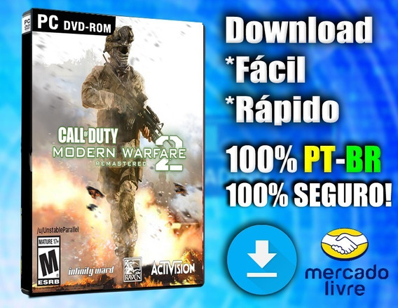 Call Of Duty Modern Warfare 2 Remastered - Pc - Completo