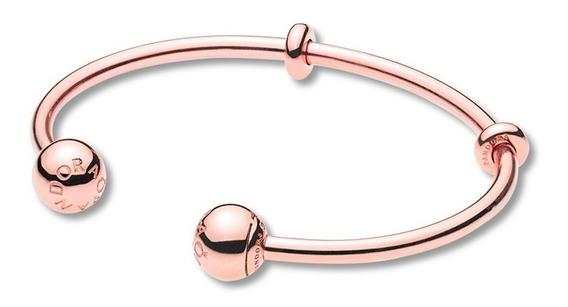 Bracelete Rose Crie & Combine Pandora