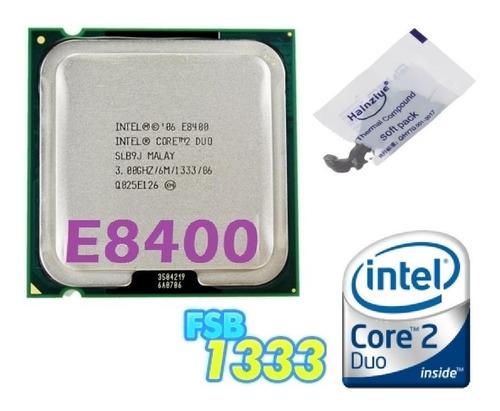 Imagem 1 de 10 de Processador Intel Core 2 Duo E8400 3.0ghz Fsb 1333 Lga 775