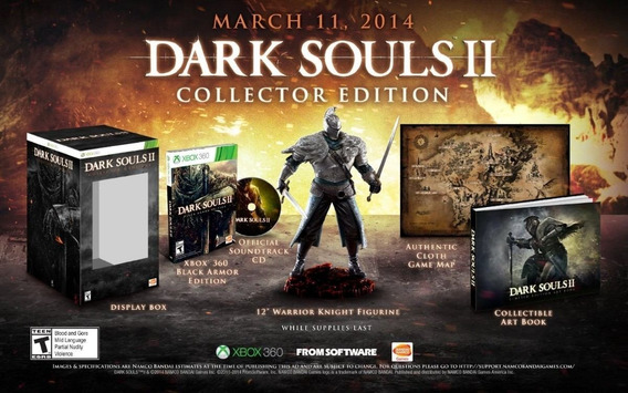 Dark Souls 2 Collectors Edition - Xbox 360