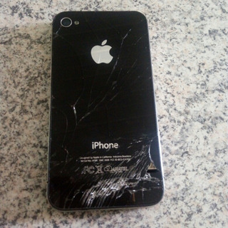 iPhone 4s A1387 Tela Trincada Inativo Leia A Descriçao