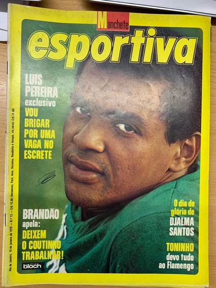 Revista Manchete Esportiva - 2ª Edição - 04 Unidades
