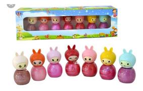 Gloss Infantil 7 Princesas Kit Com 7 Unidades