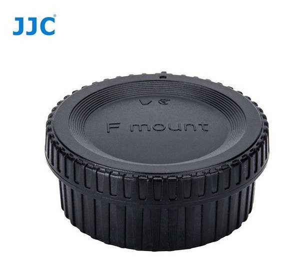 Tampa Corpo E Lente Câmera Nikon F Mount Jjc L-r16