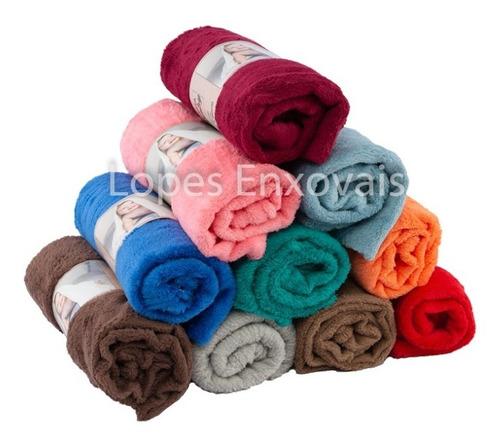6 Cobertor Mantinha Para Pet Cachorro Ou Gatinho Cores Lisas