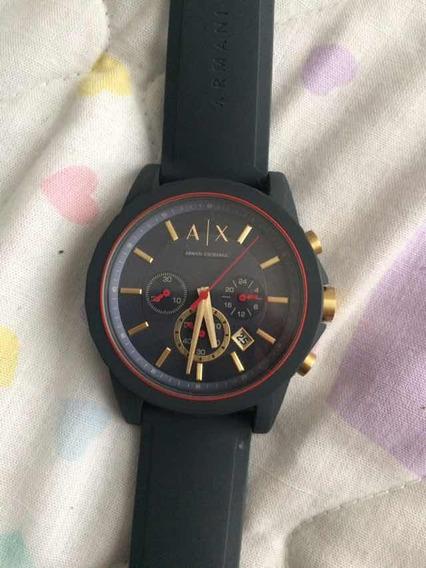 Reloj Armani Ax1335 Azul Nuevo