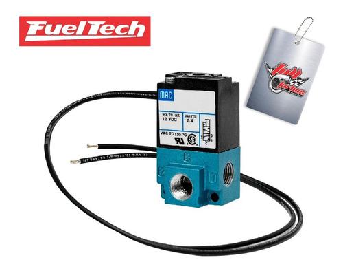 Válvula 3 Vias Para Controle De Pressão De Turbo Fueltech
