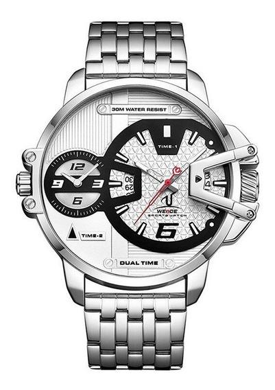 Relógio Masculino Prata Original 100% Funcional