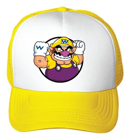 2 Gorraa Mario Bros Imagen Luigi Peach Niños Regalo Fiesta