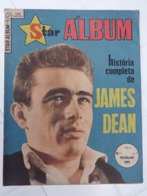 Star Álbum Nº 1 - A História De James Dean - Ebal - 1957