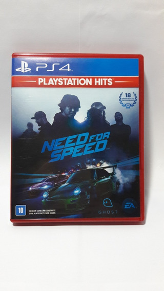 Game Need For Speed (2015) - Ps4 Mídia Física Ps Hits