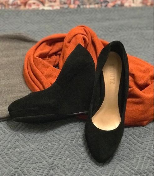 Sapato Anabela Schutz