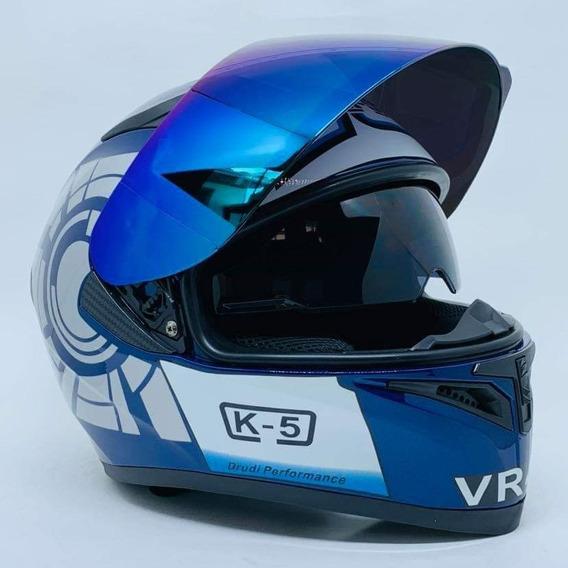 Capacete Valentino Rossi Japonês Queima De Estoque