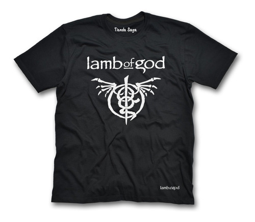 Camiseta Lamb Of God - Ropa De Rock Y Metal