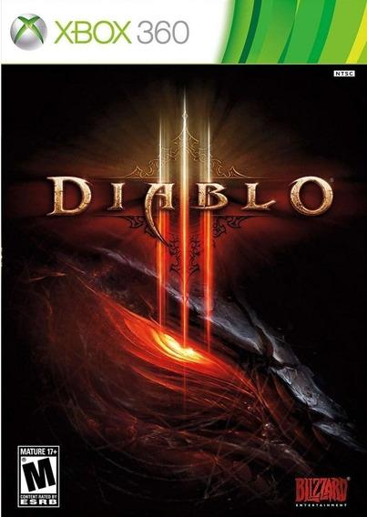 Diablo 3 Xbox 360 Mídia Física Lacrado
