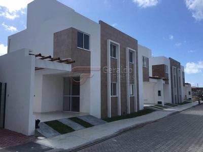 Casa Duplex, 91,17 M², 3 Quartos, Suíte, 2 Vagas, Praia Do Francês, Marechal Deodoro, Al - 1281