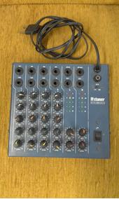 Mesa De Som Staner 04 Canais 04-25 Menor Preço Londrimusic