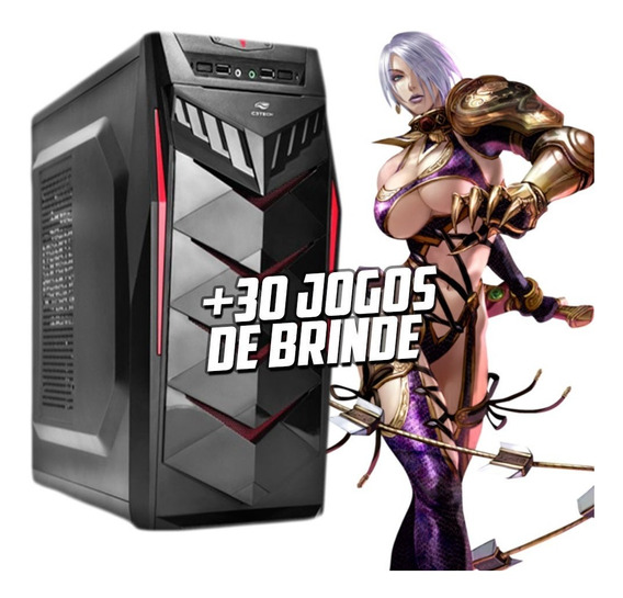 Pc Gamer I5 3.2 Ghz,8gb Ram, 1tb, Rx 570 4gb, - Promoção