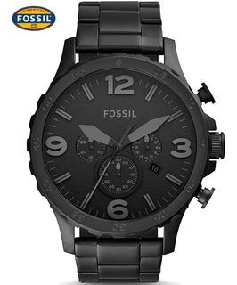 Reloj Fossil Nate Cronógrafio Jr1401 - 100% Nuevo Y Original