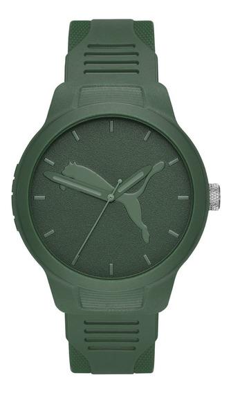 Reloj Caballero Puma Reset V2 P5015 Verde Olivo Poliuretano