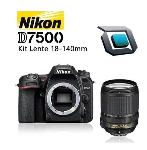 Camara Nikon D7500 Kit 18-140mm 4k Iva Inc/12 Cuotas  157,99