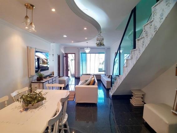 Casa Geminada Com 3 Quartos Para Comprar No São João Batista (venda Nova) Em Belo Horizonte/mg - 3896
