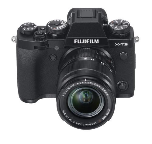 Camara X-t3 Negra+ Lente Xf 18-55mm F/2.8-4 R Lm Ois