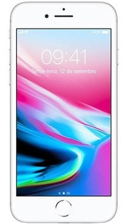 Apple iPhone 8 64gb Tela 4.7 12mp 4g Lte Prata Lacrado