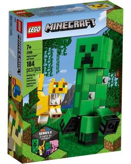Lego Minecraft 21156 Figura Grande Creeper Y Ocelote Manias