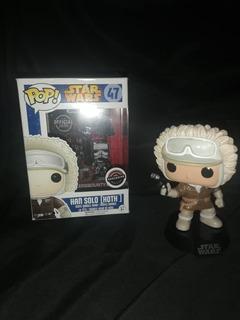 Figura Funko Pop Han Solo Exclusiva 47 Sin Insert (plastico)
