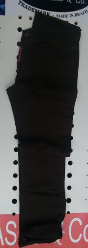 Imagem 1 de 3 de Calça De Sarja Alinhada