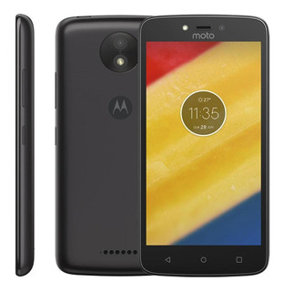 Celular Smartphone Motorola Moto C 8gb 3g Quad Core 2 Chips