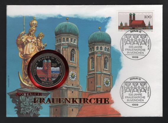 Uganda Blister Moneda Proof Del Año 1994 - Ciudad De Munich