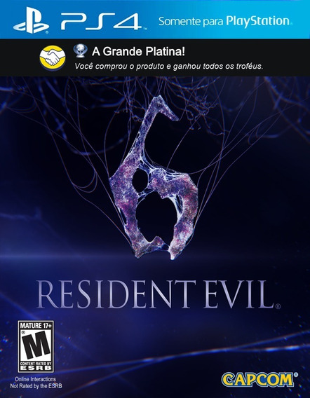 Troféus: Resident Evil 6 - P S 4