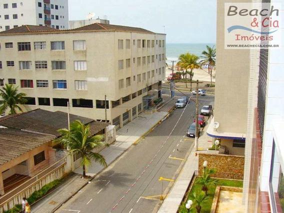 Vista-mar, 2 Dorms, Ocian, Praia Grande - R$ 230 Mil, Ap00731 - Vap00731