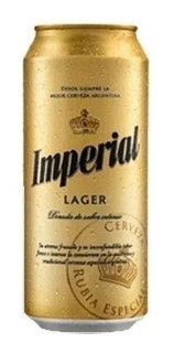 Cerveza Imperial Lager Lata 473 Ml- Ventas Por Mayor Y Menor
