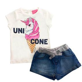 1ac48e54a Saia De Unicornio - Conjuntos Infantis no Mercado Livre Brasil