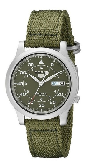 Reloj Seiko Snk805 Automatico Verde