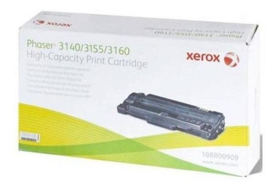 Cartucho De Toner Xerox Phaser 3140/3155/3160 Original