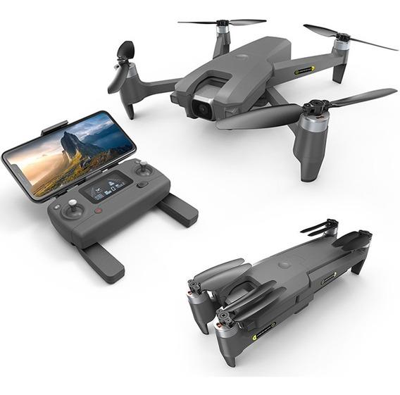 Binden Drone Semi Profesional Mew4-1 Plegable, Con Gps, Cámara 2k Con Rotación 180º En Vuelo, 40km/h, 18 Min De Vuelo