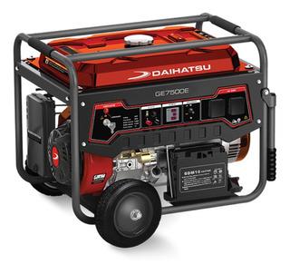 Generador portátil Daihatsu GE7500E 6500W monofásico 220V