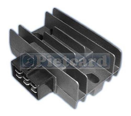 Imagen 1 de 2 de Regulador Voltaje De Cte Continua 12v Trifásico 12a Kmx Piet